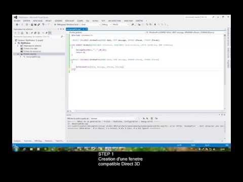 Arabic DIRECTX Programming Tutorial - Part 1
