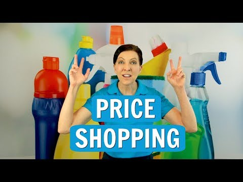 Price Shopping for House Cleaning Service