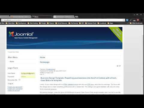 Convert an HTML Template to Joomla 2.5/3.0 - Part One
