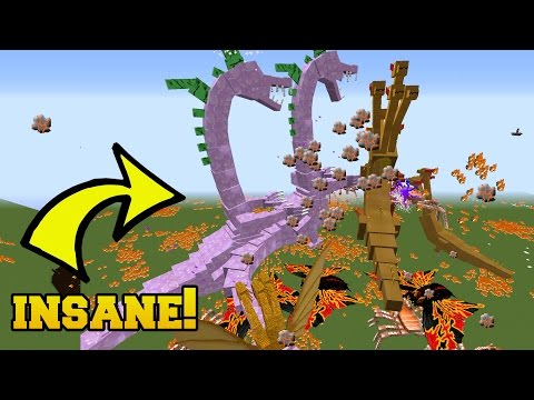 BIGGEST & STRONGEST MOBS EVER FIGHT!!!!