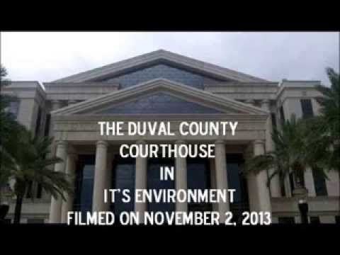The Duval County Courthouse in it's Environment-Southern & Eastern Views November, 2013