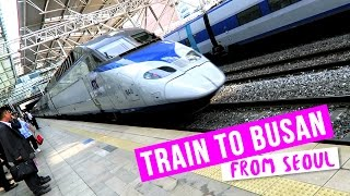 Download Riding the Train to Busan from Seoul ♦ Tour of KTX Train Video