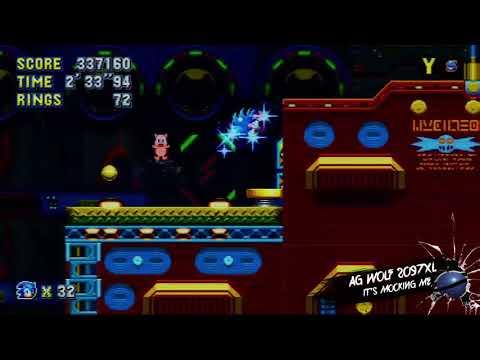 Sonic Mania traps and hazards