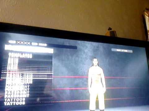 How to make Sabu on WWE 13