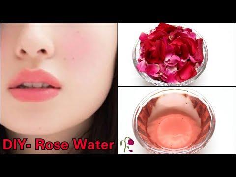 DIY NATURAL ROSE WATER | GET FAIR GLOWING SKIN | Natural Rose water