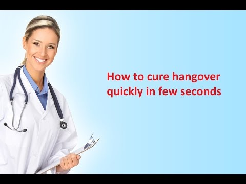 How to cure hangover naturally fast overnight - hangover treatment /remedies