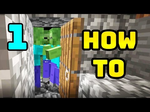 BEST Way to Play Minecraft Part 1 - Getting Started, Wood, Food, Cave and More