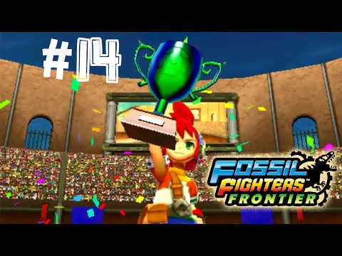 Fossil Fighters: Frontier Nintendo 3DS THE PARSEC GP!  Walkthrough/Gameplay Part 14 English!
