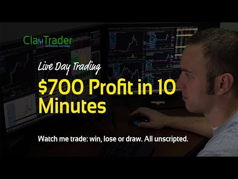 Live Day Trading - $700 Profit in 10 Minutes