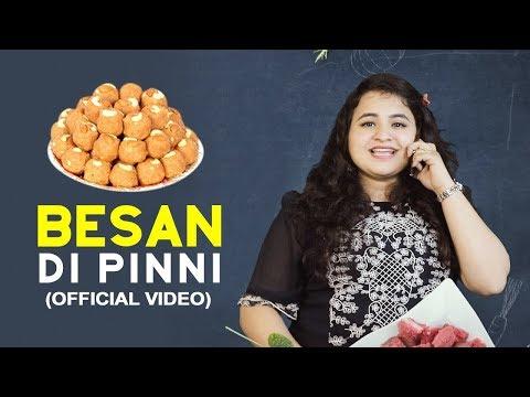 Besan Ki Pinni   Traditional Pinni   Easy To Make Recipe   Foodies   Latest Video 2018