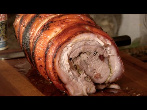Porchetta Recipe On the Napoleon Grill