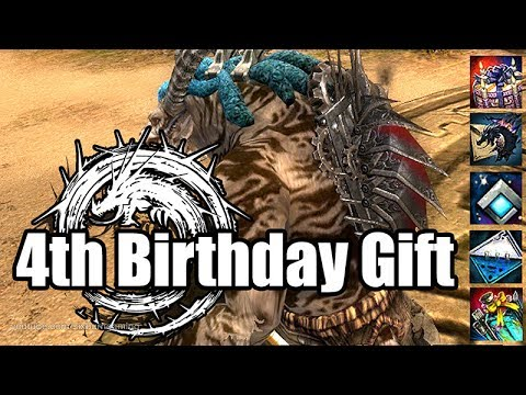 🎮Guild Wars 2: Fourth Birthday Gift, Anniversary Backpack