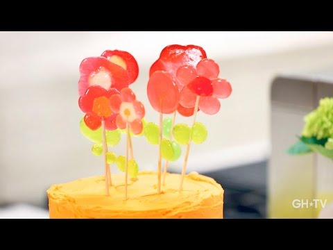 1-Ingredient Lollipop Cake Toppers with Jodi Levine