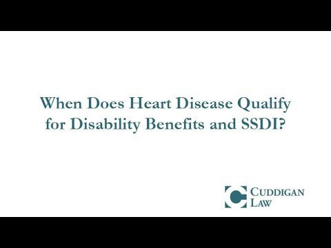 When Does Heart Disease Qualify for Disability Benefits and SSDI?