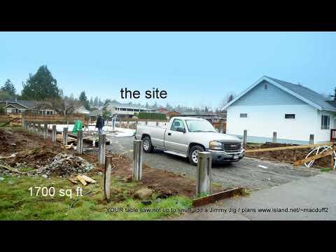 Passive House Construction in Port Alberni BC Canada the way of the future