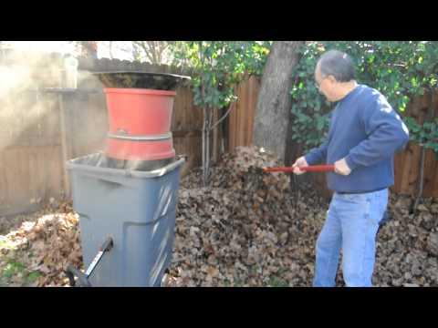 Leaf Mulcher (Home Made)