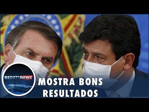 Bolsonaro anuncia pesquisa de eficácia da cloroquina para coronavírus