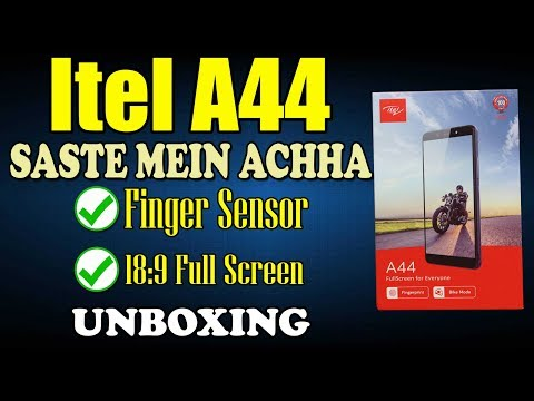 Itel A44 Not Just Unboxing, Saste Mae Accha Phone & Giveaway
