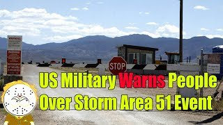 """US Military Responds And Warns People Over """"Storm Area 51"""" Facebook Event"""