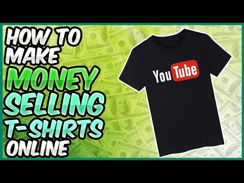 How to Make $200+ Dollars Selling T-Shirts