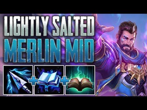 Xxx Mp4 SMITE Merlin Mid Gameplay Lightly Salted Mast 3gp Sex