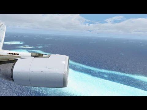 FSX Malaysia MD 11 @ Maldives ( HD )