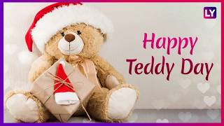 Teddy Day 2019: Messages, Greetings, WhatsApp Stickers, Instagram Quotes to wish your loved once