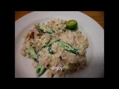 Creamy Tuna Sisig