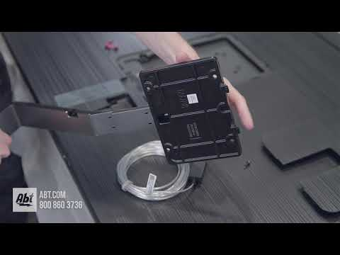 How To: Assemble And Install Samsung QN65Q7FN Stand