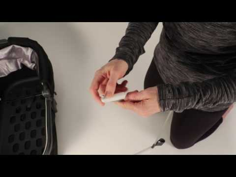 SERVICE IN SECONDS - Installing the UPPAbaby Bassinet Rod Clips