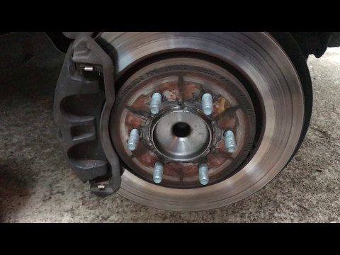 Replacing Brake Pads and Rotors - 2015 Ford Expedition