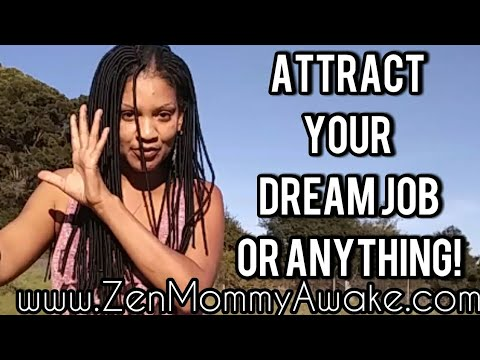 How To Manifest A Job Or Anything? (Law Of Attraction Secrets)