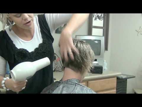 (Stacked Bob Haircuts) Layered Short Hairstyles With Bangs Tutorial