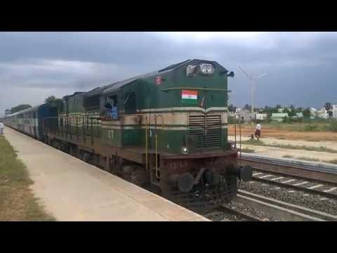 kanyakumari-puducherry weekly express leave Arupukottai to Manamadurai