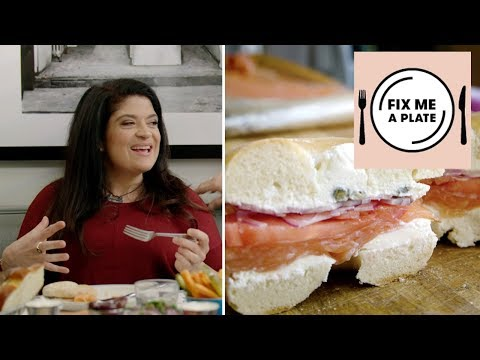 The Classic Bagel at Russ and Daughters with Alex Guarnaschelli | Food Network