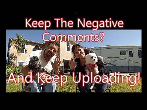 Negative Youtube Comments Will Make You Famous!