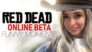 Red Dead Online FUNNY MOMENTS! (live)