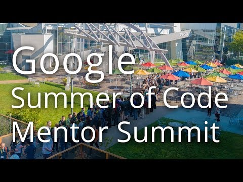 Google Summer of Code 2013 Mentor Summit