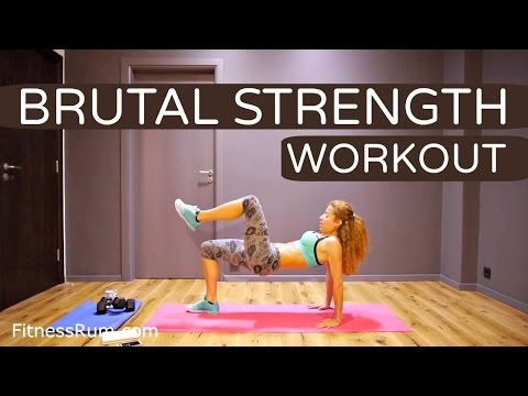 Brutal Full Body Workout 22 Minute Mass Building and Endurance Exercises Level 3