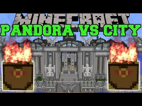 PANDORA'S BOX MOD VS IMPERIAL CITY - Minecraft Mods Vs Maps (Random And Crazy)