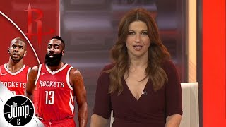Rachel Nichols: If Rockets can't beat the Golden State Warriors, then who can | The Jump | ESPN