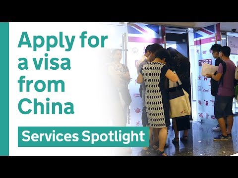Apply for a UK tourist visa from China - user research case study