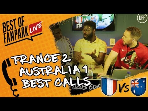 'France Need Martial !' | France Vs Australia (2-1) | Best of FanPark Live Call-In