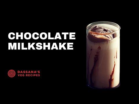 chocolate milkshake recipe, how to make chocolate milkshake recipe with cocoa powder