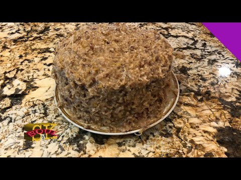 How to make German Chocolate Cake with Coconut Pecan Frosting