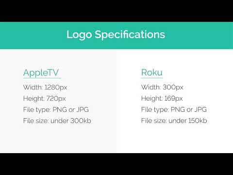 Configuring your Apple TV and Roku Channel