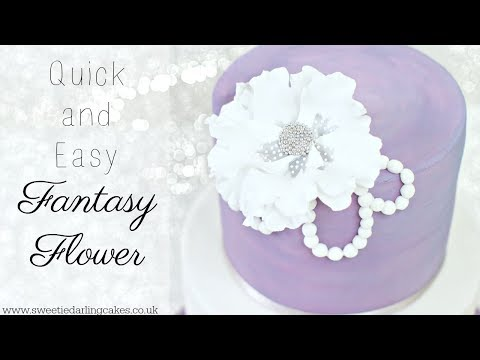 How To Make A Quick Sugar Flower