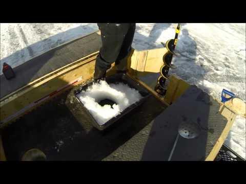 Ice fishing shelter mod