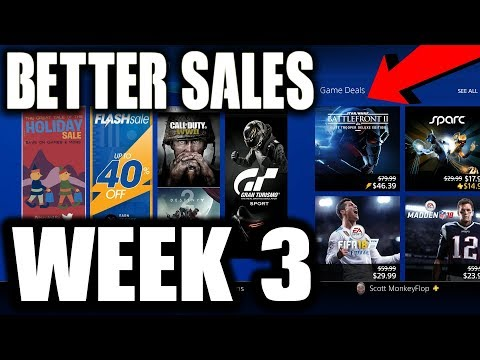REALLY GOOD DEALS? PS4 Christmas Sale Week 3 The Tale of the HOLIDAY SALE