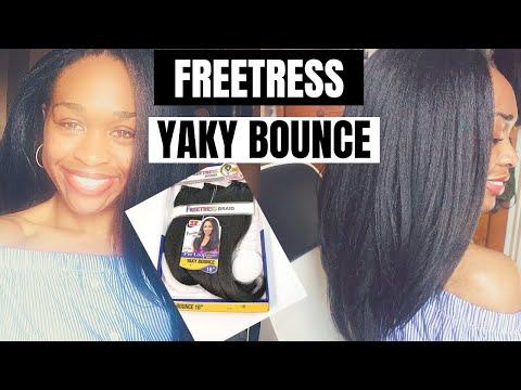 Xxx Mp4 Installing Freetress PreLoop Yaky Bounce 3X Straight Crochet Hair Review 3gp Sex